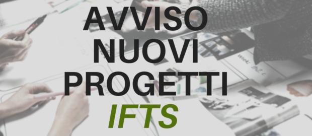 Avviso per i nuovi progetti IFTS